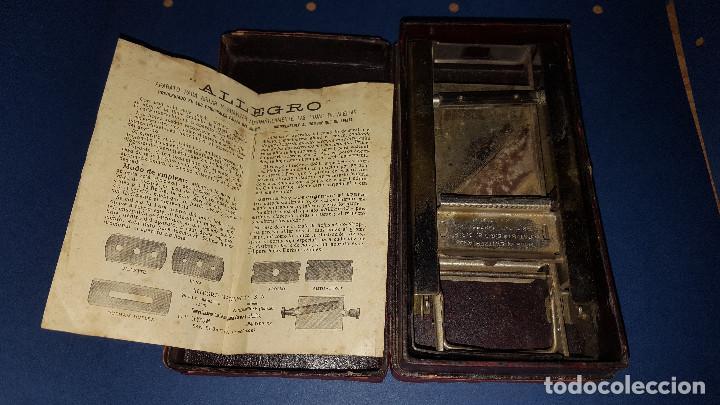 Antigüedades: AFILADOR DE CUCHILLAS ALLEGRO - Foto 2 - 104830839