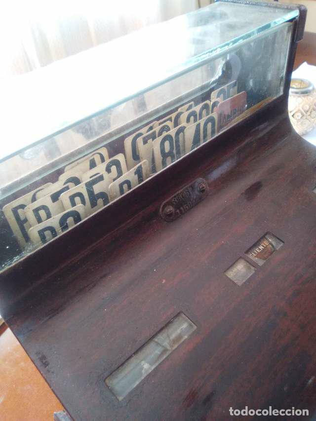 Antigüedades: caja registradora - Foto 2 - 104850815