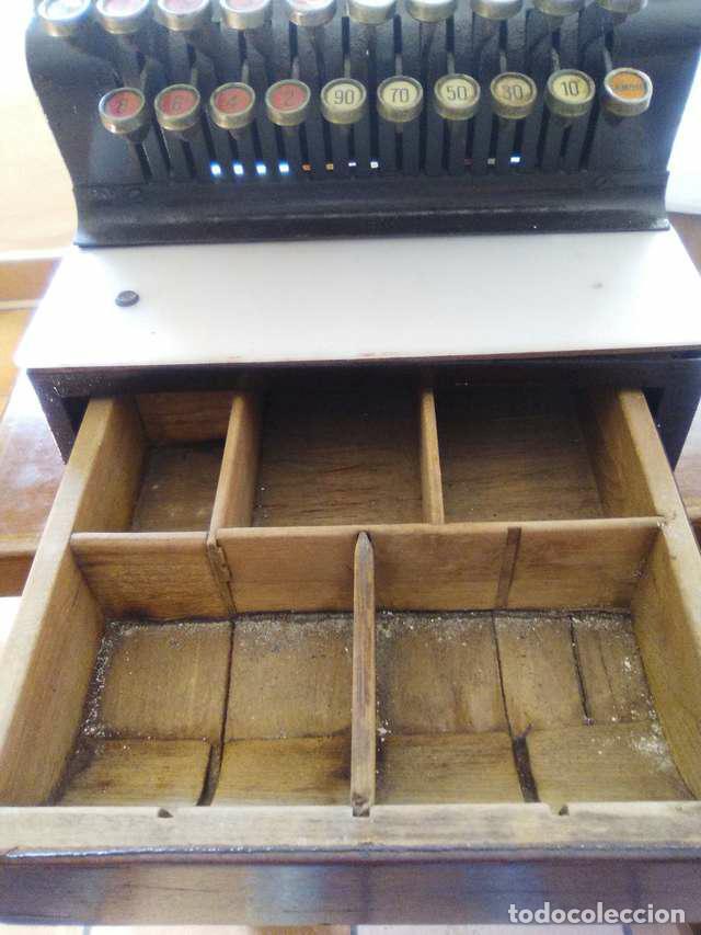 Antigüedades: caja registradora - Foto 6 - 104850815