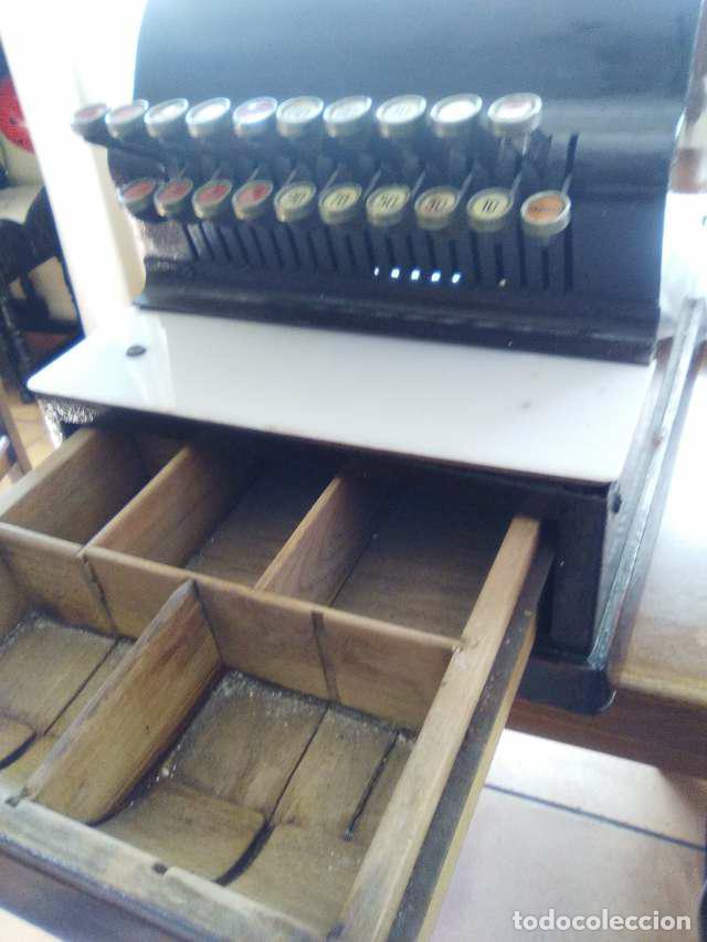 Antigüedades: caja registradora - Foto 7 - 104850815