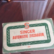 Antigüedades: SINGER AUTOMATIC ZIGZAGGER. Lote 104852286