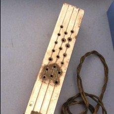 Antigüedades: CURIOSO APARATO CROMADO DE USO MEDICO, PROBABLEMENTE CALENTADOR, BROTON PAT. Lote 104864015