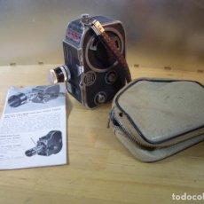 Antigüedades: CAMARA TOMAVISTAS BOLEX PAILLARD C8 DE 8MM SUIZA FILMAR FILMADORA. Lote 161925070