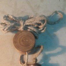 Antigüedades: PLOMADA ANTIGUA.. Lote 105035486