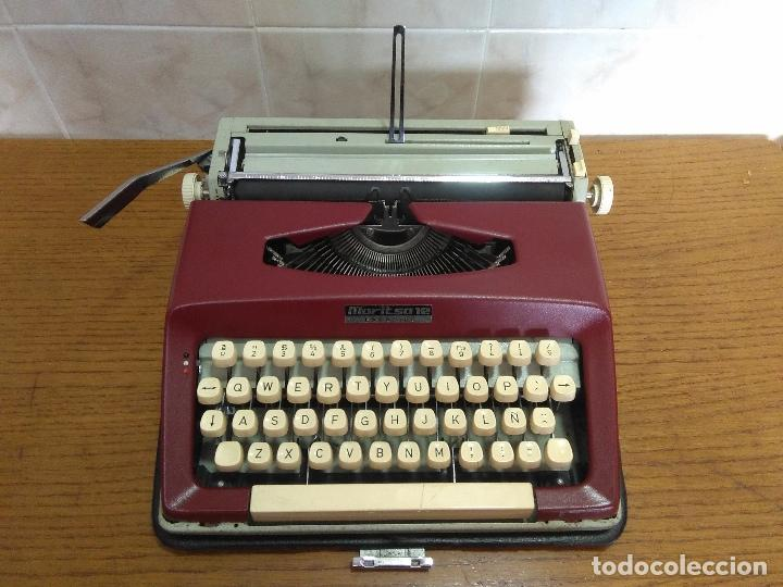 MÁQUINA DE ESCRIBIR MARITSA 12 ESPECIAL AÑOS 70!!! (Antigüedades - Técnicas - Máquinas de Escribir Antiguas - Otras)
