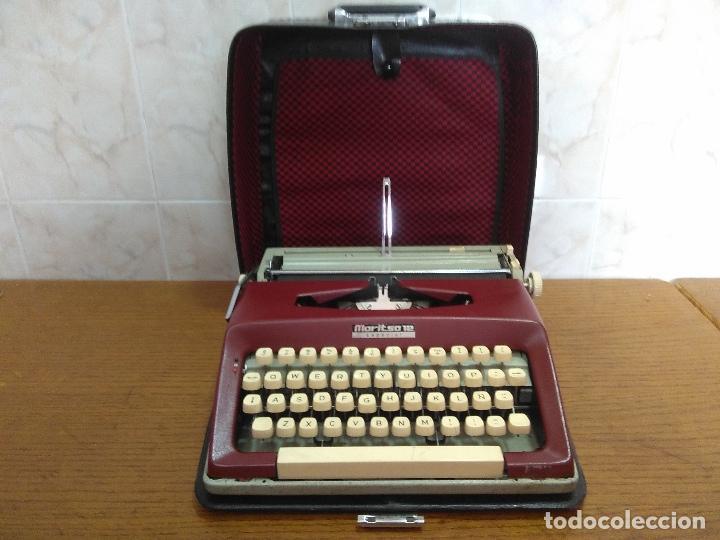 Antigüedades: Máquina de escribir Maritsa 12 Especial años 70!!! - Foto 8 - 105039759