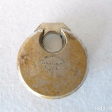Antigüedades: CANDADO DE METAL D.K.MILLER LOCK CERRADO SIN LLAVE. Lote 105077619