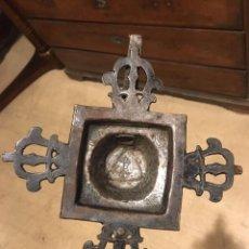 Antigüedades: HIERRO FORGADO GÓTICO S.XVI,A ESTUDIAR. PIEZA DE MUSEO. Lote 105090195
