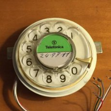 Teléfonos: DIAL TELEFONO MODELO HERALDO EN DORADO. Lote 105098579