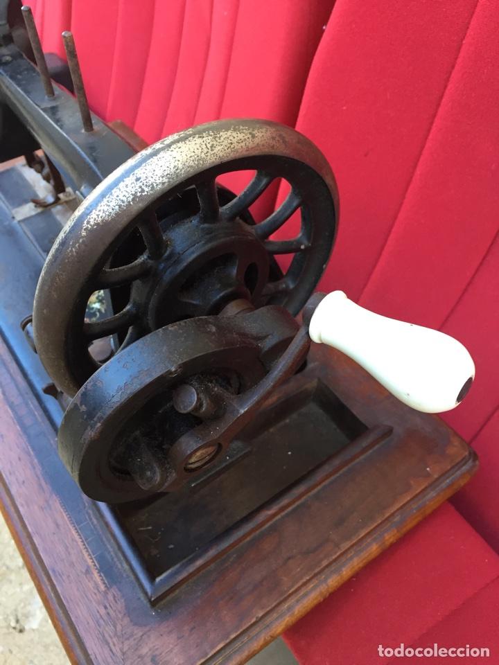 Antigüedades: Maquina de coser Siedel Naumann - Foto 4 - 105142238
