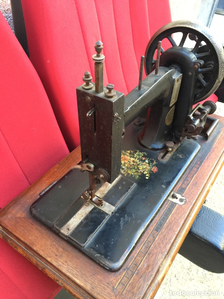 Antigüedades: Maquina de coser Siedel Naumann - Foto 5 - 105142238
