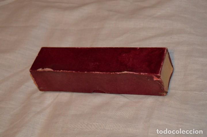 Antigüedades: Vintage - ANTIGUA JERINGUILLA grande de CRISTAL - CON DOS AGUJAS NUEVAS - EN CAJA - HAZ OFERTA - Foto 10 - 105208067