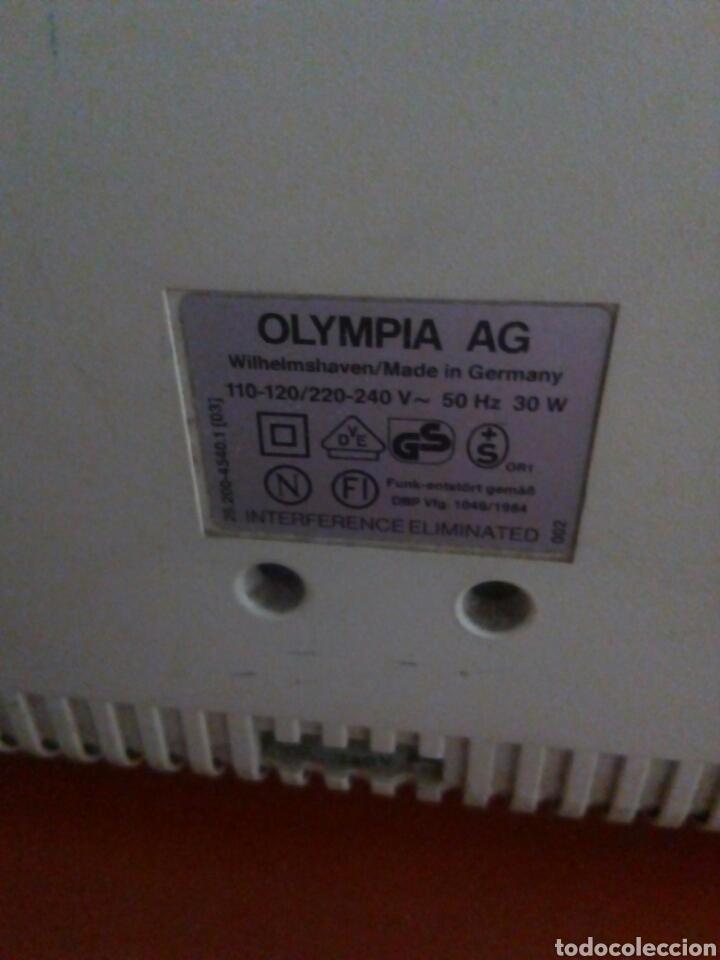 Antigüedades: Máquina escribir eléctrica Carrera Olympia - Foto 4 - 105237740