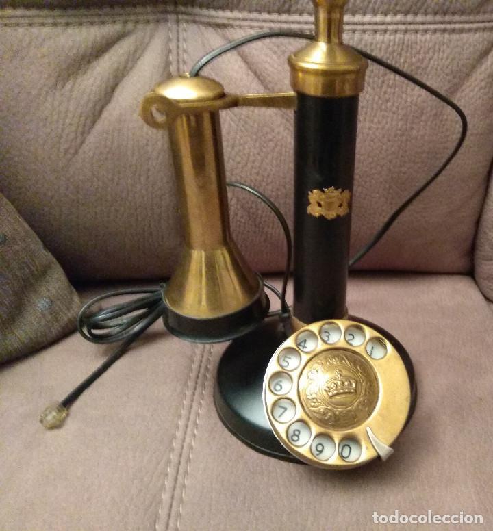 Phones: ANTIGUO Y ORIGINAL TELÉFONO DE COLUMNA, ADAPTADO Y EN FUNCIONAMIENTO, Envío gratis - Foto 2 - 105314391