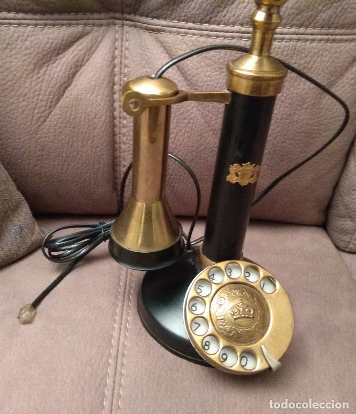 Phones: ANTIGUO Y ORIGINAL TELÉFONO DE COLUMNA, ADAPTADO Y EN FUNCIONAMIENTO, Envío gratis - Foto 4 - 105314391
