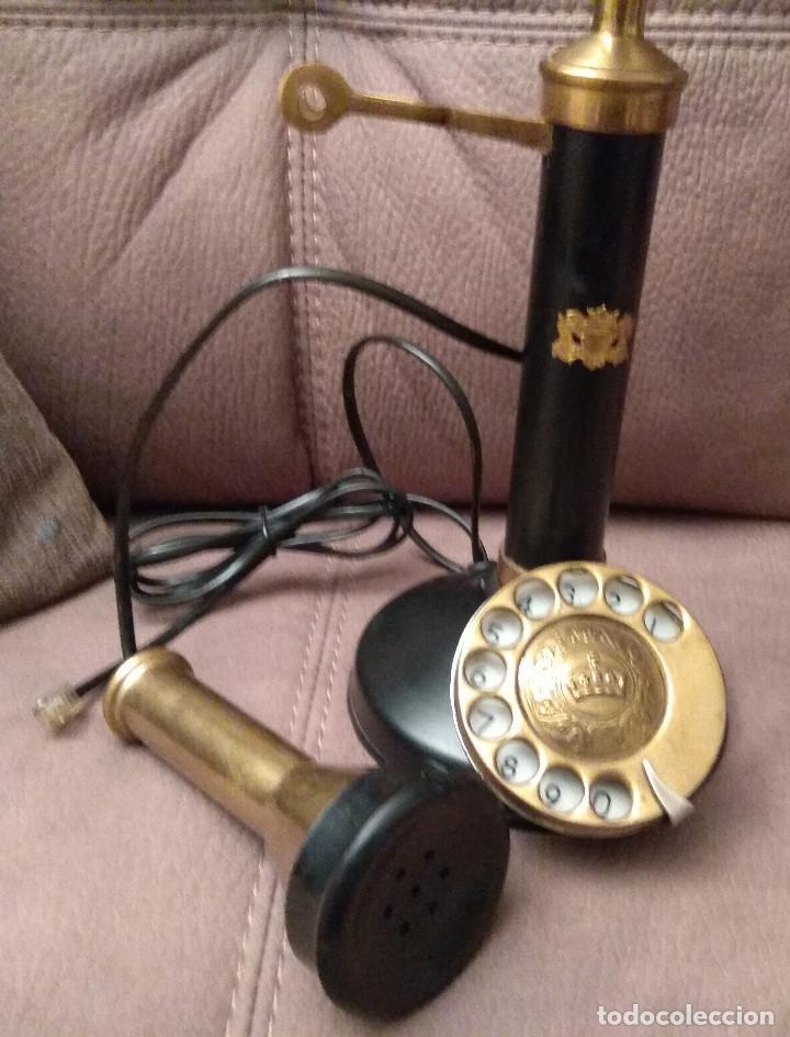 Phones: ANTIGUO Y ORIGINAL TELÉFONO DE COLUMNA, ADAPTADO Y EN FUNCIONAMIENTO, Envío gratis - Foto 5 - 105314391
