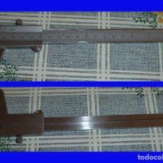 Antigüedades: CALIBRE PIE DE REY NONIO MITUTOYO JAPON CON RUEDA FIJADORA . Lote 105690951