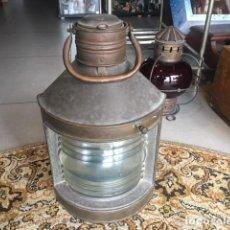 Antigüedades: FAROL DE BARCO ORIGINAL . Lote 105716467