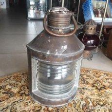 Antigüedades: ANTIGUO FAROL DE BARCO ORIGINAL. . Lote 105716587