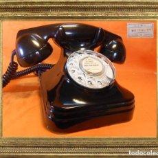 Teléfonos: TELÉFONO ESPAÑOL DE SOBREMESA AÑOS 50 STANDARD ELÉCTRICA, S.A. - MADRID FUNCIONANDO Y PASADO CONTROL. Lote 105750683