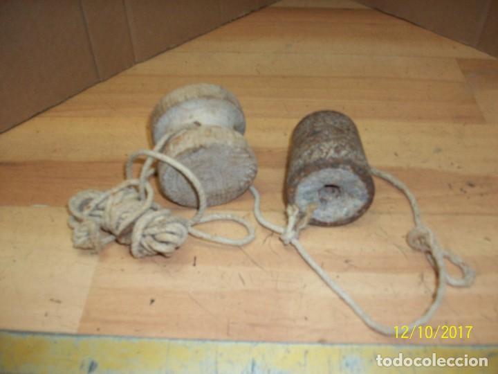 Antigüedades: ANTIGUA PLOMADA DE ALBAÑIL - Foto 2 - 105757759