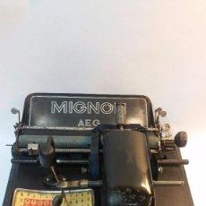 Antigüedades: MÁQUINA MIGNON. Lote 105878647