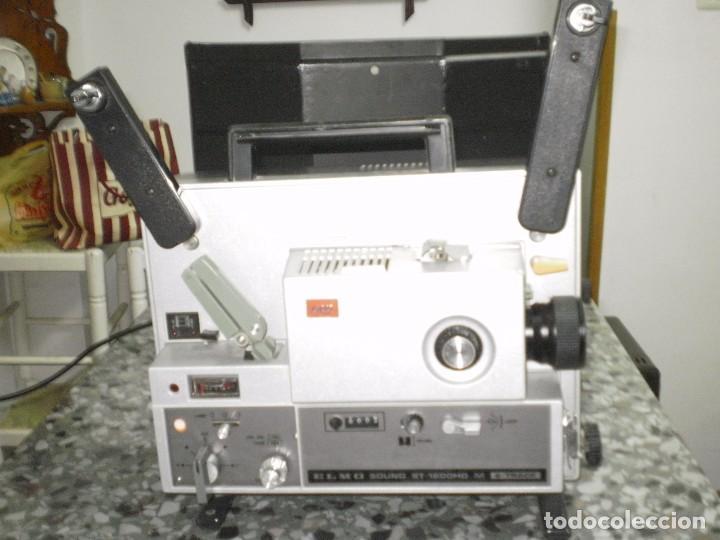 PROYECTOR DE CINE SONORO , ELMO , SOUND ST-1200 HD M 2- TRACK , ( MADE IN JAPAN ) GENERAL BUENO-VER (Antigüedades - Técnicas - Aparatos de Cine Antiguo - Proyectores Antiguos)