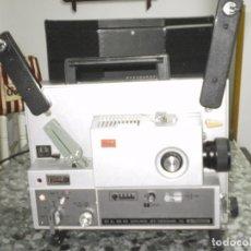 Antigüedades: PROYECTOR DE CINE SONORO , ELMO , SOUND ST-1200 HD M 2- TRACK , ( MADE IN JAPAN ) GENERAL BUENO-VER. Lote 105932355