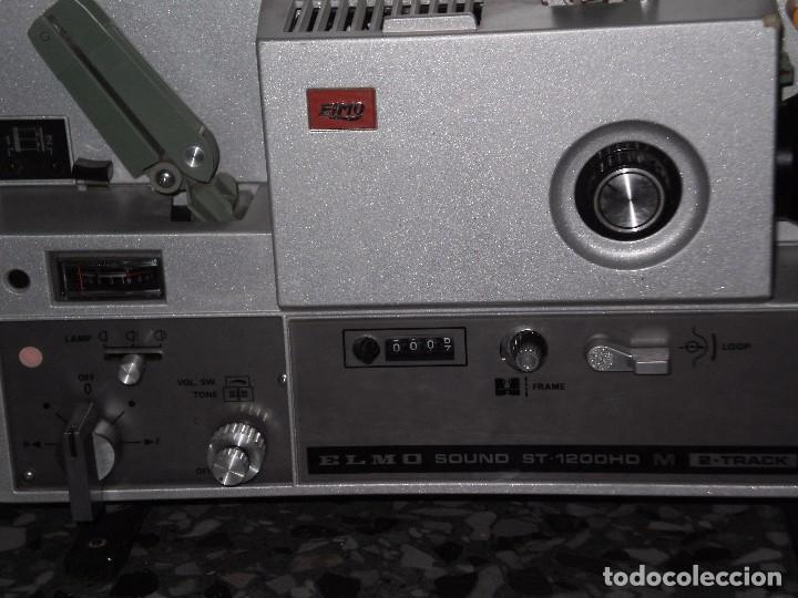Antigüedades: PROYECTOR DE CINE SONORO , ELMO , SOUND ST-1200 HD M 2- TRACK , ( MADE IN JAPAN ) GENERAL BUENO-VER - Foto 2 - 105932355