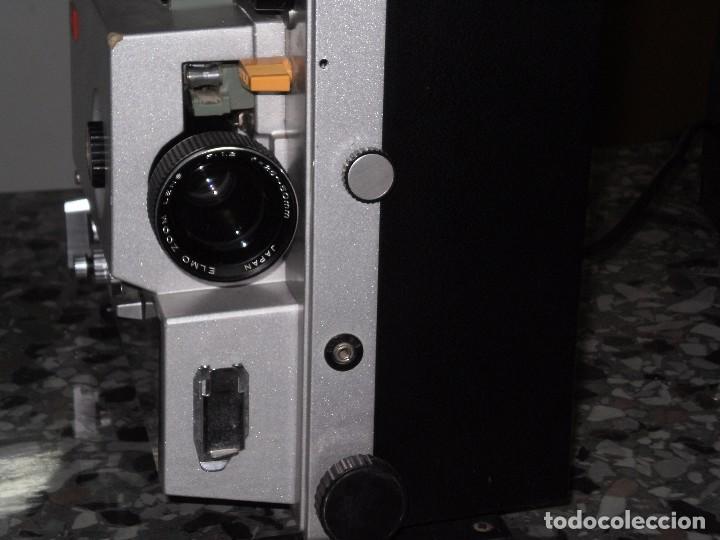 Antigüedades: PROYECTOR DE CINE SONORO , ELMO , SOUND ST-1200 HD M 2- TRACK , ( MADE IN JAPAN ) GENERAL BUENO-VER - Foto 4 - 105932355