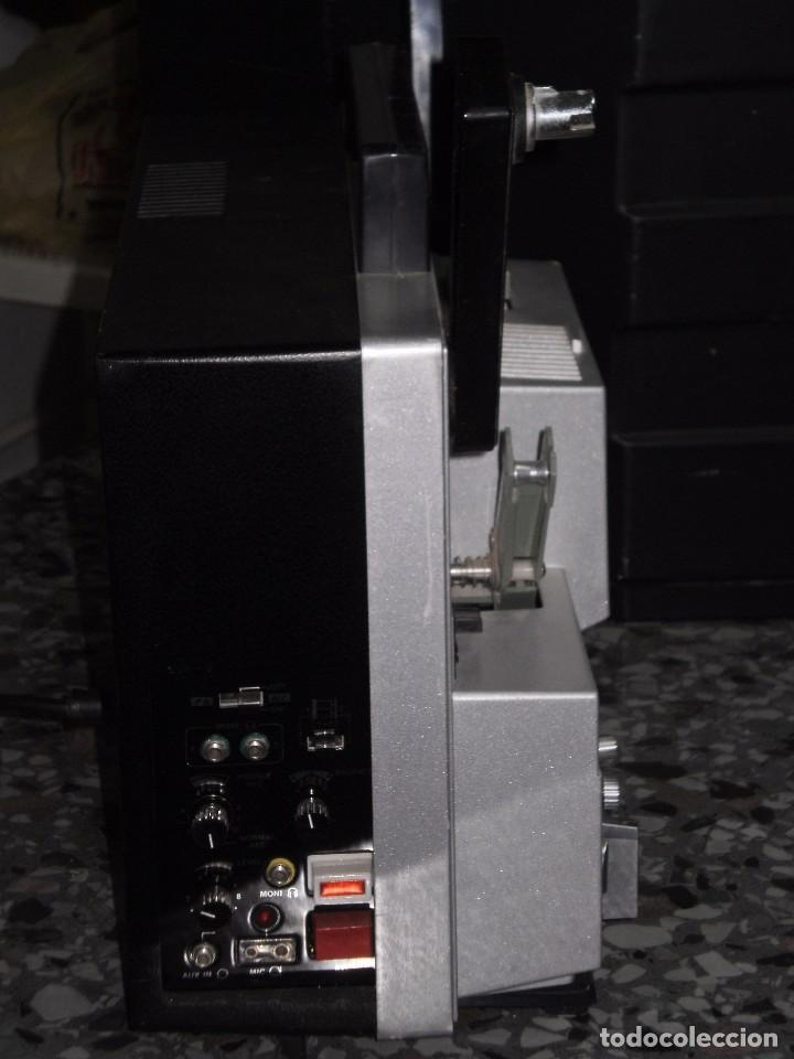 Antigüedades: PROYECTOR DE CINE SONORO , ELMO , SOUND ST-1200 HD M 2- TRACK , ( MADE IN JAPAN ) GENERAL BUENO-VER - Foto 6 - 105932355