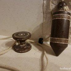 Antigüedades: PLOMADA ANTIGUA DE OBRA DE HIERRO.. Lote 105939431