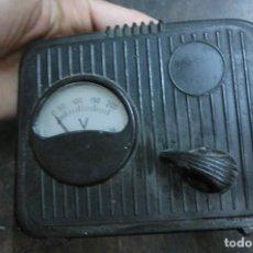 Antigüedades: APARATO ELECTRONICO VOLTIMETRO. Lote 105999091