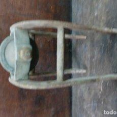 Antigüedades: POLEA DE PRINCIPIOS DE SIGLO XX. Lote 105999455