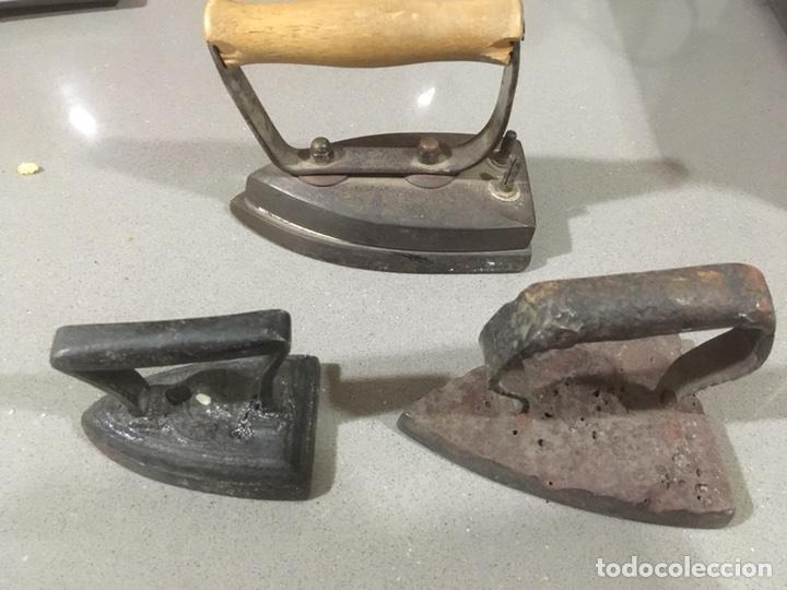 Antigüedades: PLANCHA DE CARBON - Foto 3 - 106024411