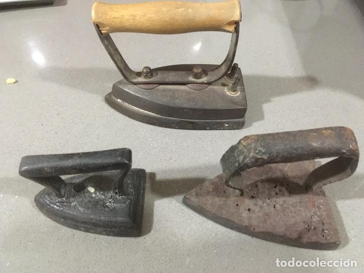 Antigüedades: PLANCHA DE CARBON - Foto 4 - 106024411