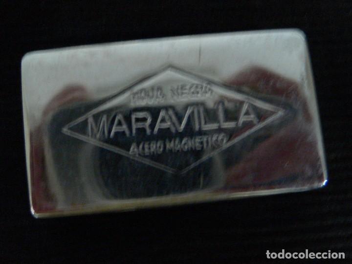 Antigüedades: MAQUINILLA AFEITAR ANTIGUA MARCA MARAVILLA COMPLETA - Foto 7 - 106074883