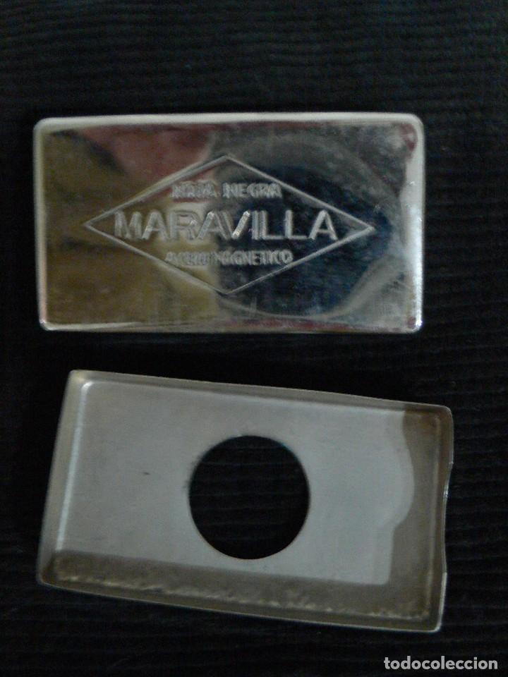 Antigüedades: MAQUINILLA AFEITAR ANTIGUA MARCA MARAVILLA COMPLETA - Foto 8 - 106074883