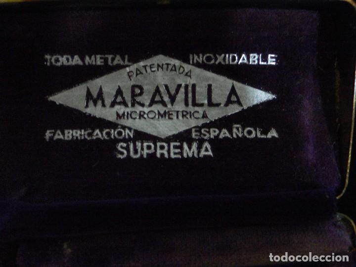 Antigüedades: MAQUINILLA AFEITAR ANTIGUA MARCA MARAVILLA COMPLETA - Foto 10 - 106074883
