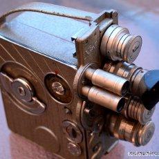 Antigüedades: BRAUN NIZO HELIOMATIC.FILM 16MM.CAMARA 8MM.. Lote 106145835