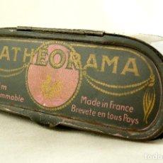 Oggetti Antichi: PATHÉORAMA - MADE IN FRANCE - CON PELÍCULA INCLUIDA - 1900. Lote 106150203
