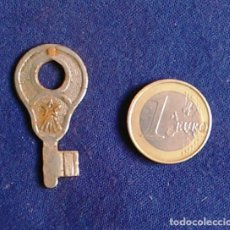 Antigüedades: LLAVE DE MALETA ANTIGUA.. Lote 106584527