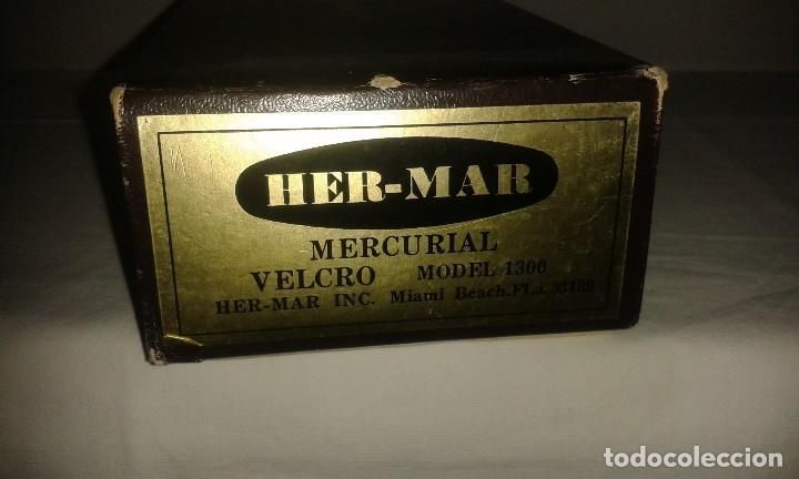 Antigüedades: Lote de antiguo aparato medico tensiometro manometro de mercurio y 2 estetoscopios / fonendoscopios - Foto 12 - 139249613