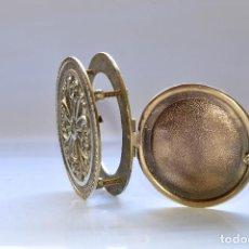 Antigüedades: MIRILLA COMPLETA DE 11 CM DE DIÁMETRO. EXCLUSIVA. Lote 106654295