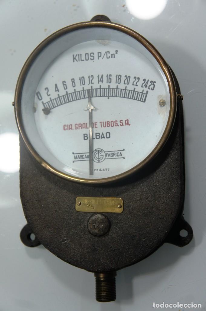 manómetro para la presión del vapor de locomoto - Comprar Varias ...
