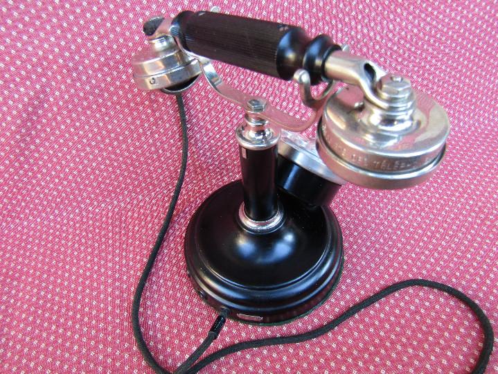 Teléfonos: ANTIGUO TELEFONO DE MESA, FABRICADO POR LA SOCIETE DES TÉLÉPHONES ERICSSON. (Colombes Seine). - Foto 12 - 133785751