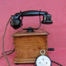 Teléfonos: ANTIGUO TELEFONO MODELO MARTY 1940, FABRICADO POR LA SOCIETE DES TÉLÉPHONES ERICSSON.. Lote 106746915