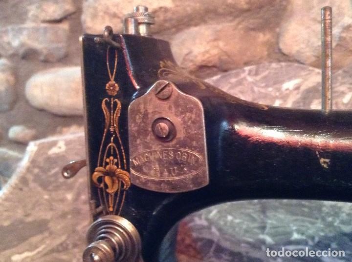 Antigüedades: Máquina de coser marca OBIN - Foto 4 - 106776751