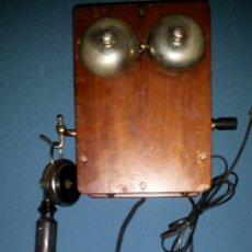 Teléfonos: ANTIGUO TELÉFONO DE MAGNETO 1900. Lote 106912551