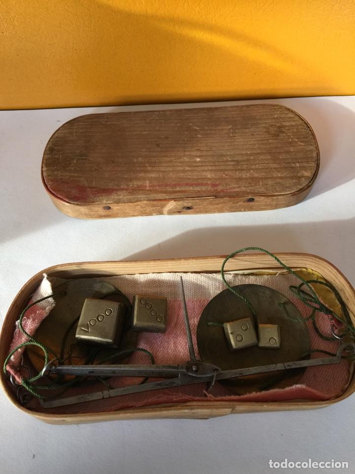 BALANZA DEL SIGLO XVIII (Antigüedades - Técnicas - Medidas de Peso - Balanzas Antiguas)